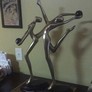 """Artmax Sculptures - Titled """"Agility I & II"""""""